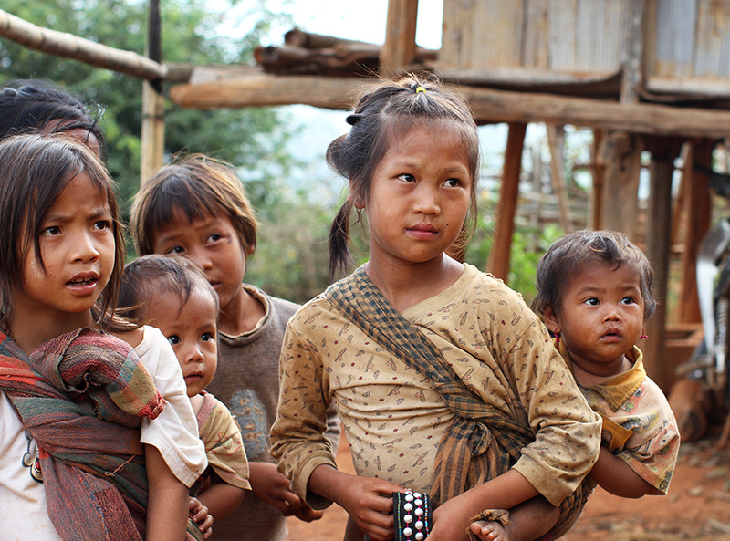 Shan children (near Kengtung)