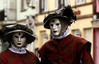 Carnival in Rosheim, village east of France