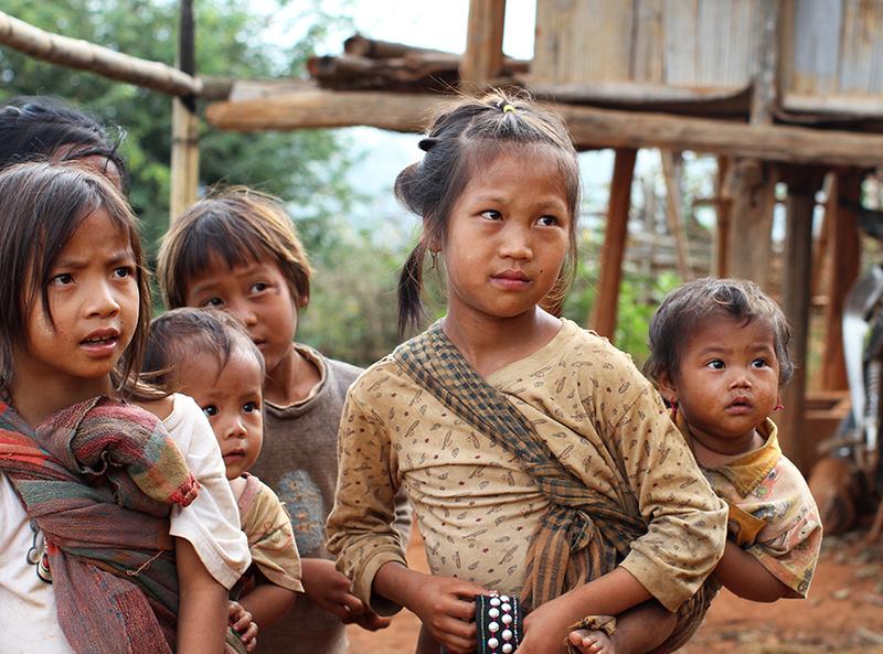 Shan children (near Kengtung)