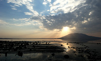 Lake Natron, near the Kenyan's border