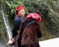 In a Zao ethnic village (north Vietnam)