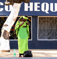 In the main street of Nianing - Senegal