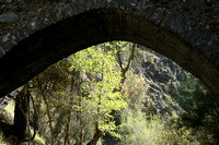 Medieval bridge near Pafos : Roudia bridge